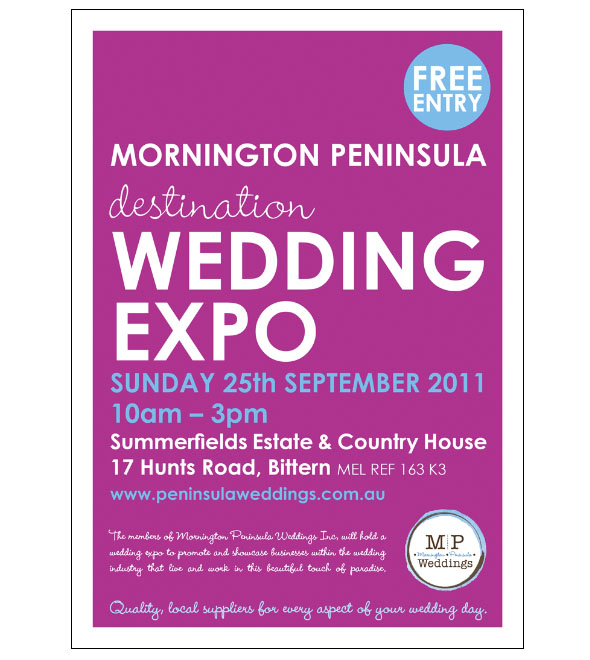Mornington Peninsula Destination Wedding Expo