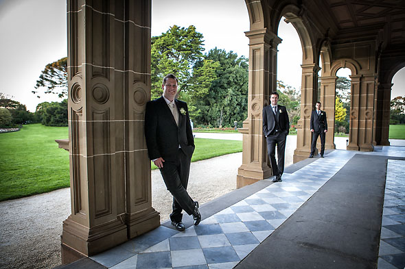 Belinda and Martin wedding Werribee Mansion