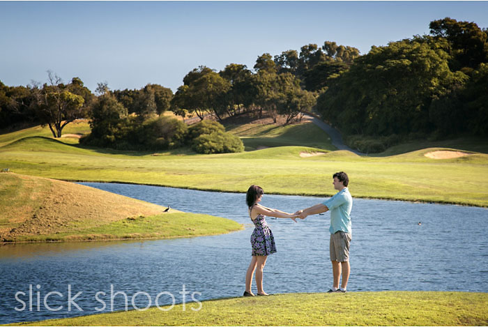 Danielle & Troy Eagle Ridge Golf Course
