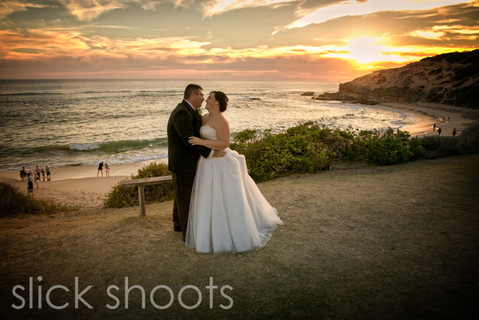 Rachelle and Mike wedding All Smiles Sorrento beach