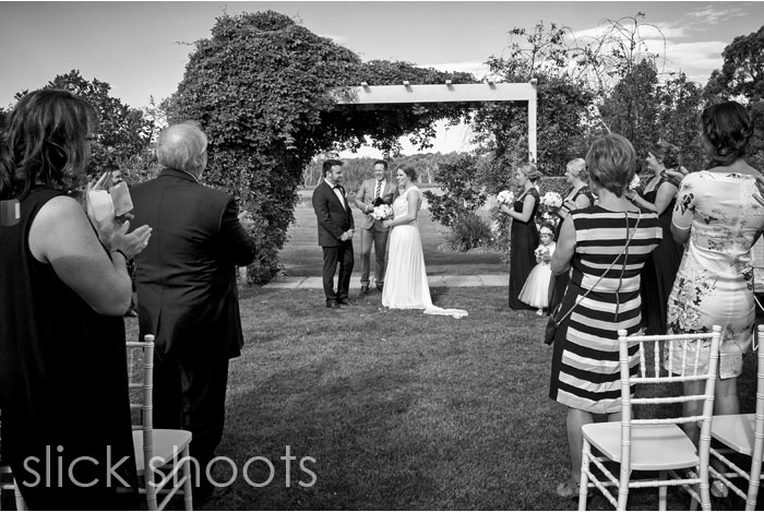 Bridie and Christian wedding Summerfields Country House Estate